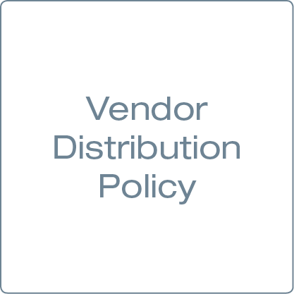 Picture for category Vendor Distribution Policy
