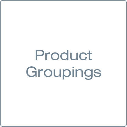 Picture for category Product Groupings